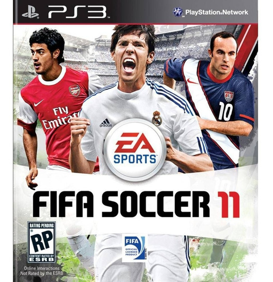 Game Play3 - Fifa 11 - Semi-novo Jogo Ps3