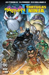 Batman / Tortugas Ninjas 2 - Tynion - Williams - Ecc