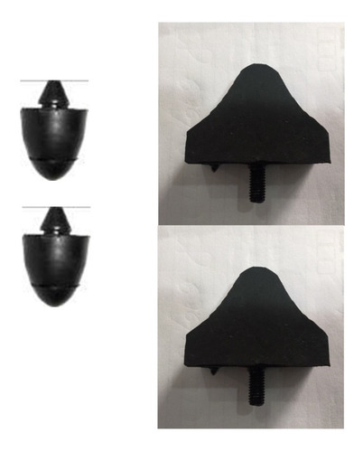 Kit Topes De Parrilla Inferior Y Superior Chevy - 4 Piezas