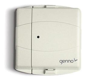 Sensor Magnético P/ Alarme Smg Saw Sem Fio 433,92 Mhz Genno