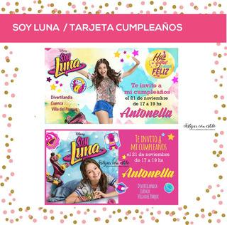 Invitaciones Infantiles De Soy Luna En Mercado Libre Argentina