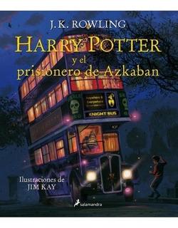 Harry Potter 3 Ilustrado El Prisionero De Azkaban (td) - R