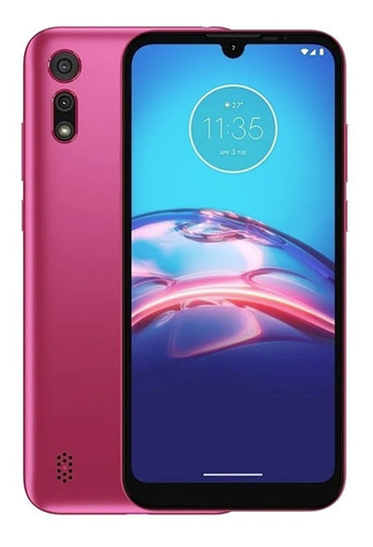 Celular Liberado E6s Rosa 6.1  Octa-core 2gb+32gb Motorola