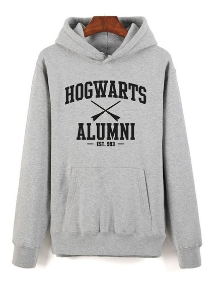 Hogwarts Alumni Buzo Canguro Con Capucha Unisex Harry Potter