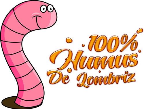 100% Humus De Lombriz - Sustrato Abono Natural
