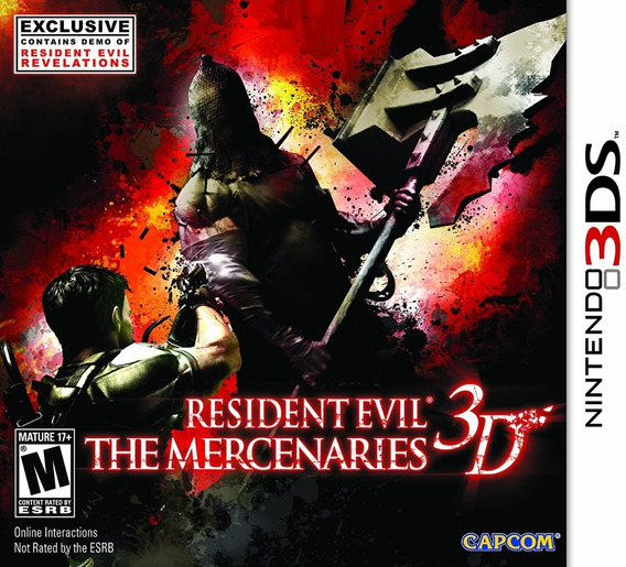 Jogo Resident Evil: The Mercenaries - Nintendo 3ds