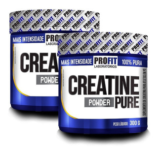 2x Creatina Mono-hidratada Pura 300g - Profit Labs
