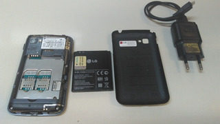 Celular LG Tri-chip E-470 Com Defeito