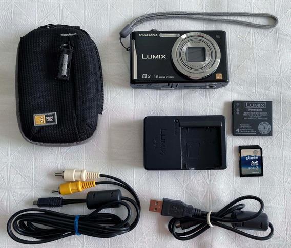 Câmera Panasonic Lumix Dmc-fh25 16mpx 8x - R$120 À Vista