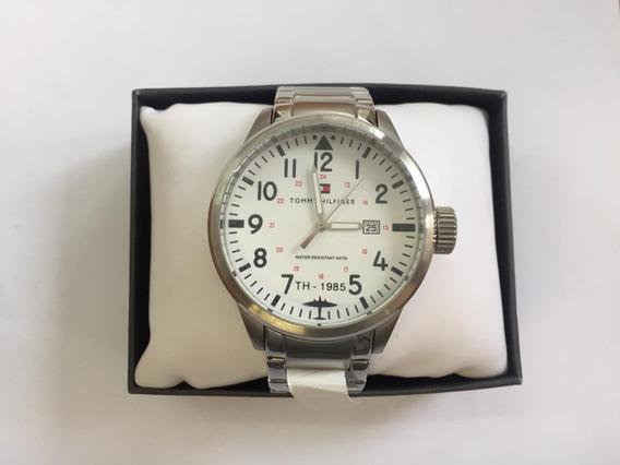 Relógio M Tommy Hilfiger 1985 Th.102.1.14.0877 Original C/nf