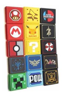 Estuche Para Juegos Game Card Nintendo Switch Variedad Diseños