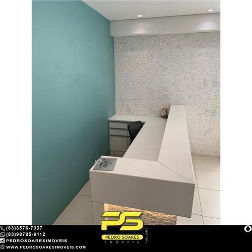 Sala À Venda, 53 M² Por R$ 420.000 - Miramar - João Pessoa/pb - Sa0277