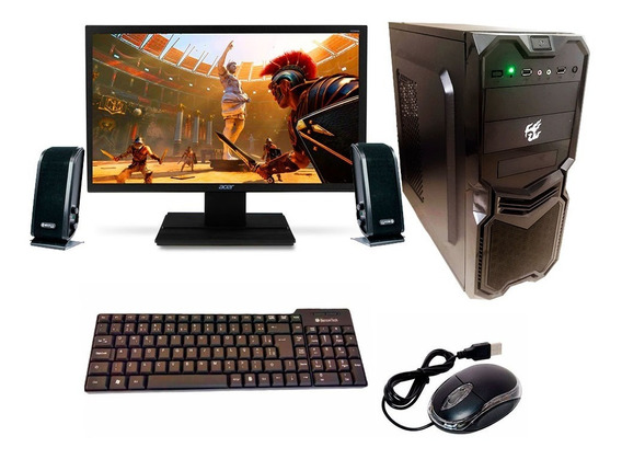Pc Completo Gamer Monitor 21,5led Hdmi
