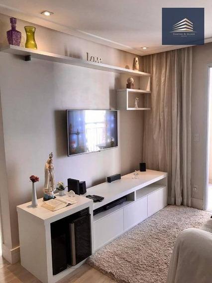 Apartamento Na Vila Augusta, Condomínio Suprema, 64m², 2 Dormitórios, 1 Suíte, 1 Vaga. - Ap0879