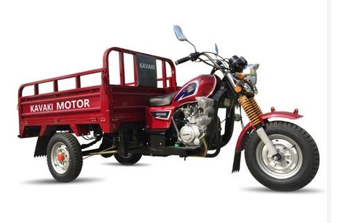 Imagen 1 de 2 de Motocarro Kavaki 200cc Purificadora Ferreteria Comida 600kg