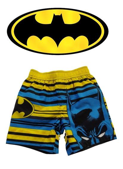 Shorts, Bermuda, Pantalon Corto Para Niños Batman