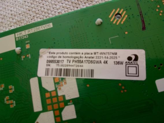 Philco Tv Ph55a17dsgwa 4k Vers: A Placa Principal