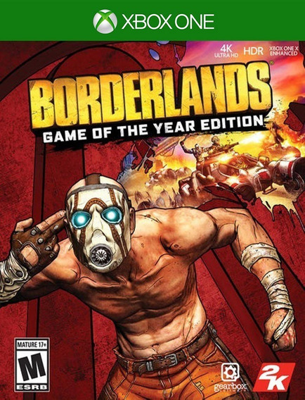 Borderlands Goty Xbox One - 25 Dígitos (envio Já)