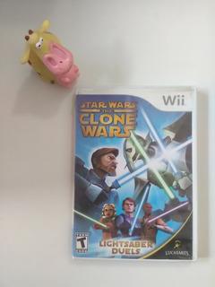 Star Wars The Clone Wars Wii Garantizado