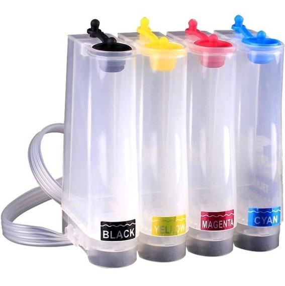 Bulk Ink Hp 1000 2050 3050 F2050 C4480 Completo +400ml Tinta