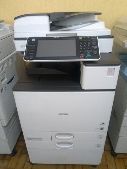 Impressora Colorida Laser Multifuncional A3 Ricoh Mpc2003