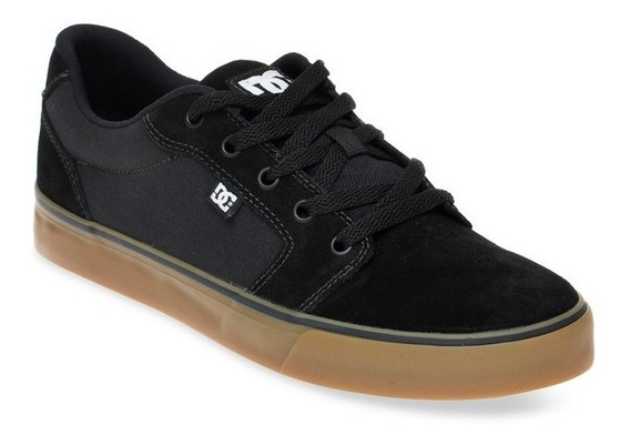 Tênis Dc Shoes Anvil La - Black Gum