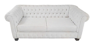 Sillon Sofa Chesterfield 3 Cuerpos X 2 Mts