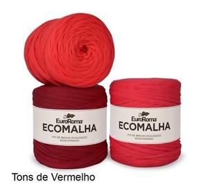 Kit 5 Fio De Malha Euroroma Cores Para Crochê - Promoção