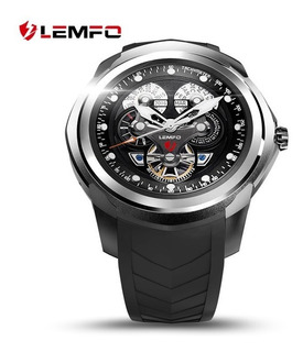Relógio Pulseira Smartwatch Lemfo Internet Gps Music Mp3 App