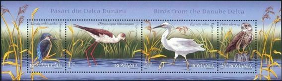 2009 Fauna- Aves Del Delta- Halcon - Rumania Mnh