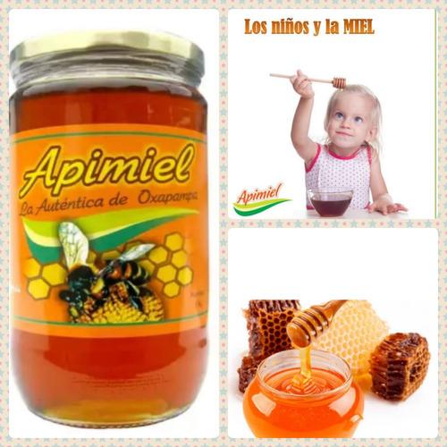 Miel De Abeja 100% Pura Y Natural De Oxapampa - Apimiel