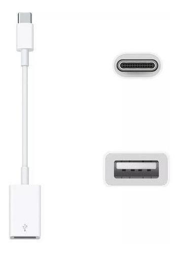 Cable Adaptador Apple Usb-c A Usb 3.1 Mj1m2am/a