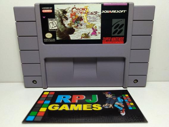 Chrono Trigger Original Salvando P/ Super Nintendo Snes - &&