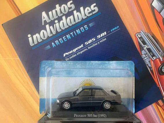 Peugeot 505 Sri 1992 Miniatura Autos Argentina Escala 1/43