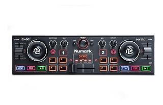 Controlador Numark Dj2go2 Usb Compacto Serato Placa Sonido