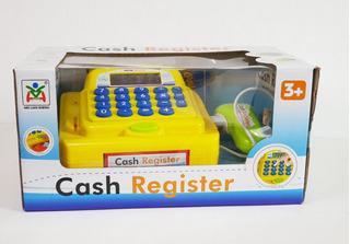 Mini Caja Registradora De Juguete Niña Calculadora Y Sonido
