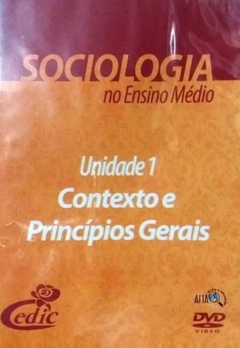 Imagem 1 de 1 de Dvd Contexto Princípios Gerais Sociologia - Original