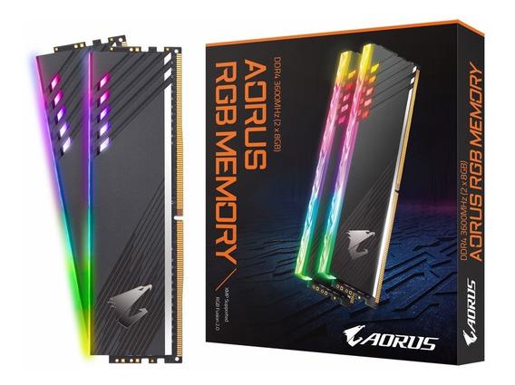 Memoria Ddr4 Gigabyte Aorus 16gb 3600 Mhz 2x8 Rgb Xellers 2