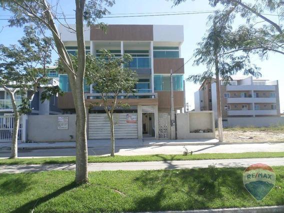 Apartamento Com 2 Quartos (1 Suíte) À Venda, 72 M² Por R$ 260.000 - Centro - São Pedro Da Aldeia/rj - Ap0426