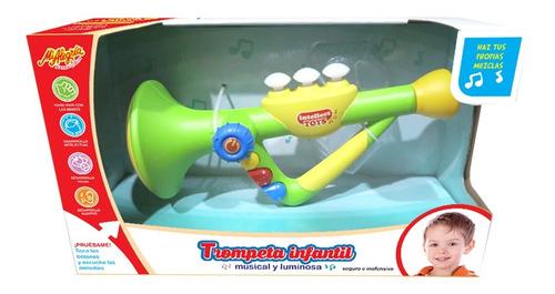 Imagen 1 de 1 de Juguete Trompeta Infantil Mi Alegria