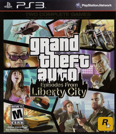 Jogo Gta Episodes From Liberty City Playstation 3 Mídia Físi