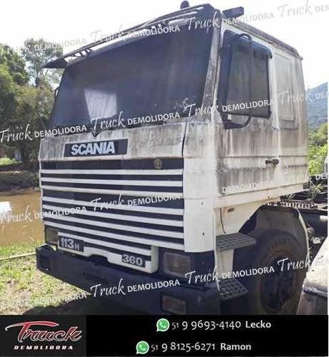 Sucata Para Venda De Peças Scania 112 / 113 Frontal