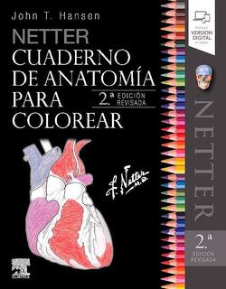Envío Gratis. Netter. Cuaderno De Anatomía Para Colorear