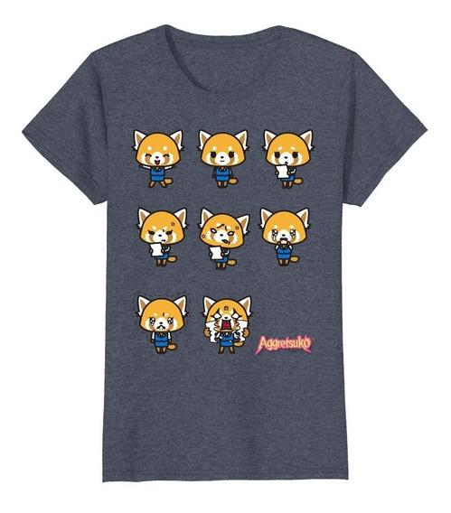 Aggretsuko Actual Estado De Ánimo Camiseta