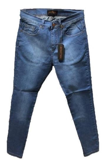 Pantalon Jean Slim F Sw Moon Blue Hombre | Hallinger (ok116)