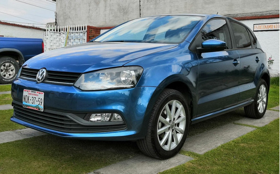 Vw Polo Design & Sound 2019 Azul Metálico, Manual
