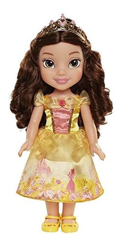 Imagen 1 de 5 de Princesa De Disney Explora Tu Mundo Belle Muñeca Grande Beb