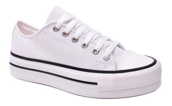 Zapatillas Blancas Nayree Talle 36 Leer Descripción