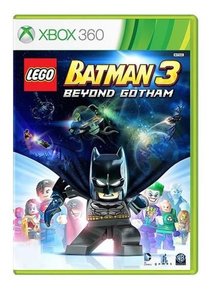 Lego Batman 3 Beyond Gotham - Xbox 360 - Usado - Original