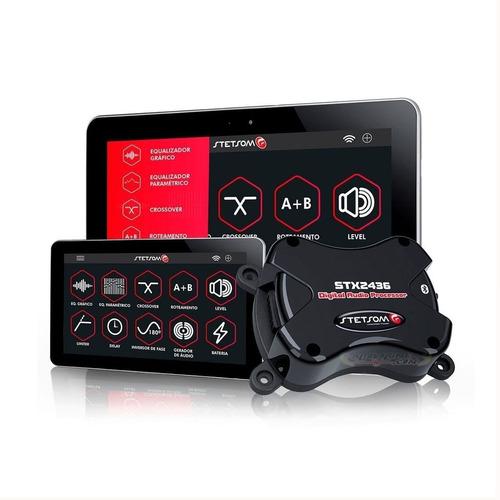 Imagen 1 de 7 de Procesador Digital De Audio Por Bluetooth Stetsom Stx2436 Bt